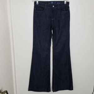For All Mankind Ginger wide leg jean